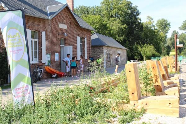 La Maison éclusière à Long porte d'entrée du Parc Naturel Régional Baie de Somme