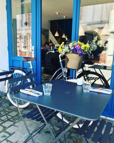 """Dinner en terrasse au Restaurant """"Baie Table d'hôte"""" à Saint-Valéry-sur-Somme"""